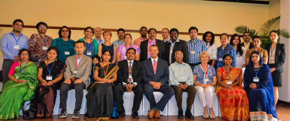 First conference : Language, Literature & Linguistics 2013 , Colombo, Sri Lanka