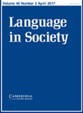 Language in Society - Communication conferences 2020