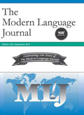 The Modern Language Journal - linguistics conferences 2020